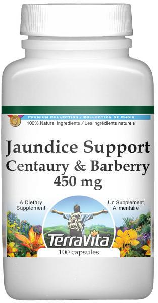 Jaundice Support - Centaury and Barberry - 450 mg