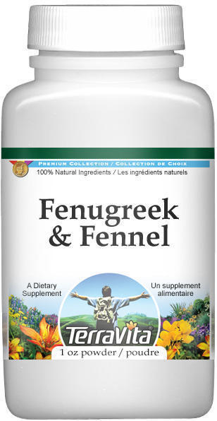 Fenugreek and Fennel Combination Powder