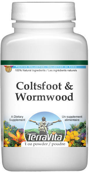 Coltsfoot and Wormwood Combination Powder
