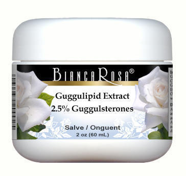 Guggulipid Extract (2.5% Guggulsterones) - Salve Ointment