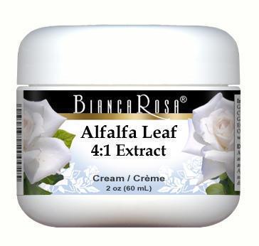 Extra Strength Alfalfa Leaf 4:1 Extract Cream