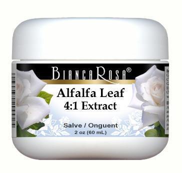 Extra Strength Alfalfa Leaf 4:1 Extract - Salve Ointment