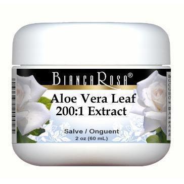 Extra Strength Aloe Vera Leaf 200:1 Extract - Salve Ointment