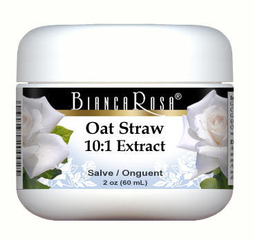 Extra Strength Oat Straw (Avena Sativa) 10:1 Extract - Salve Ointment