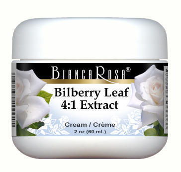 Extra Strength Bilberry Leaf 4:1 Extract Cream
