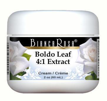Extra Strength Boldo Leaf 4:1 Extract Cream