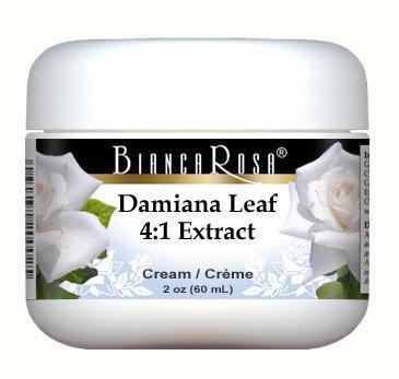 Extra Strength Damiana Leaf 4:1 Extract Cream