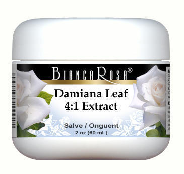 Extra Strength Damiana Leaf 4:1 Extract - Salve Ointment