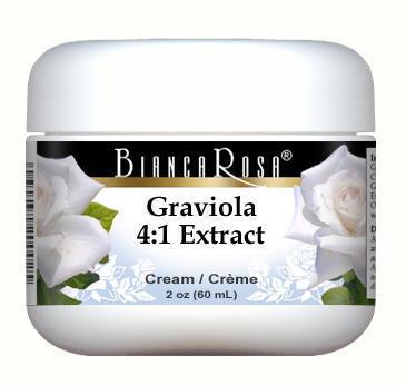 Extra Strength Graviola (Soursop) 4:1 Extract Cream