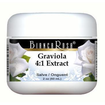 Extra Strength Graviola (Soursop) 4:1 Extract - Salve Ointment
