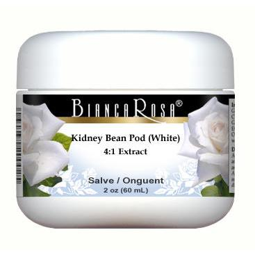 Extra Strength Kidney Bean Pod (White) 4:1 Extract - Salve Ointment
