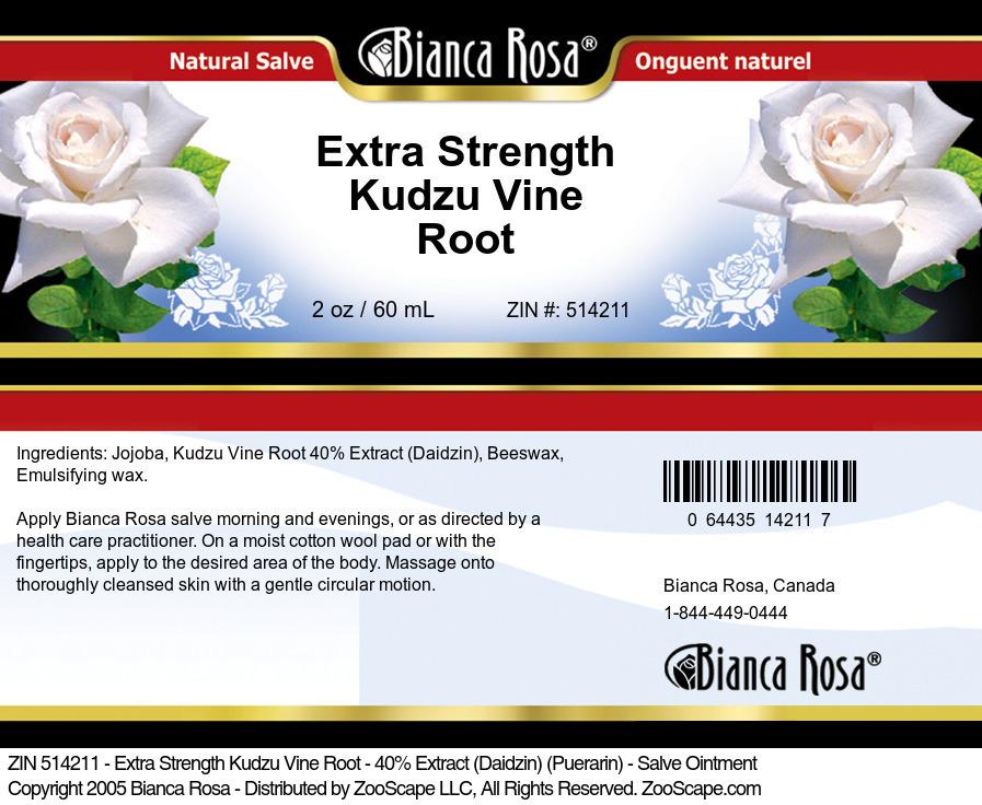 Kudzu Vine Root 40% Extract <BR>(Daidzin)