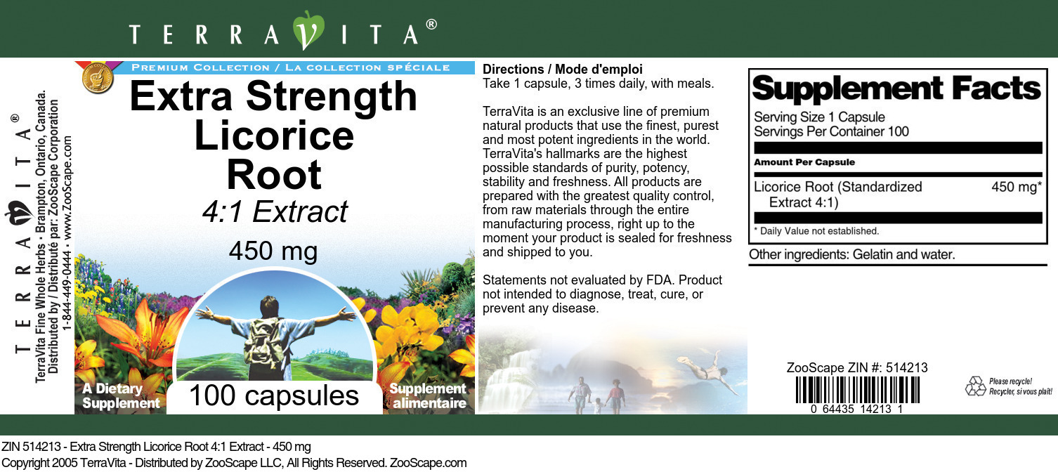 Licorice Root 4:1 Extract
