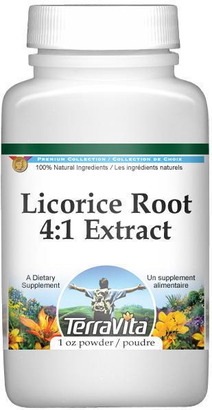Extra Strength Licorice Root 4:1 Extract Powder
