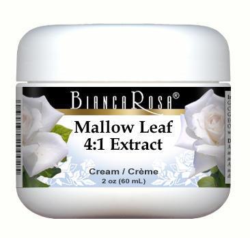 Extra Strength Mallow (Malva sylvestris) Leaf 4:1 Extract Cream