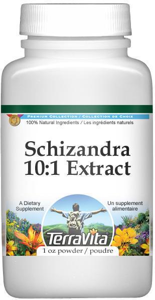 Extra Strength Schizandra (Wu Wuei Zi) 10:1 Extract Powder