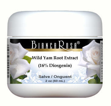 Wild Yam Root Extract (16% Diosgenin) - Salve Ointment