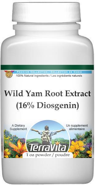 Wild Yam Root Extract (16% Diosgenin) Powder