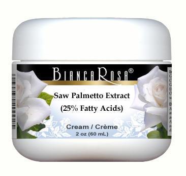 Saw Palmetto Extract (25% Fatty Acids) Cream
