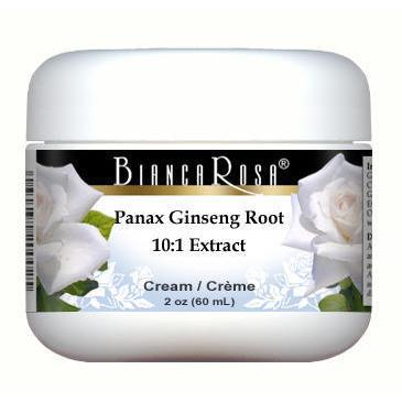 Extra Strength Panax Ginseng Root 10:1 Extract (30% Ginsenosides) Cream