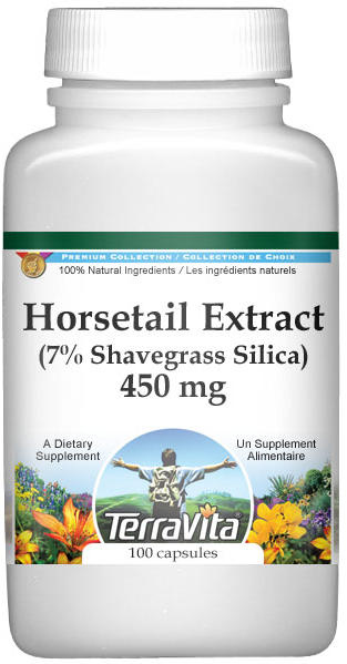 Horsetail Extract (7% Shavegrass Silica) - 450 mg