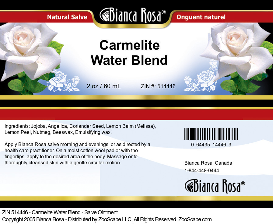 Carmelite Water Blend