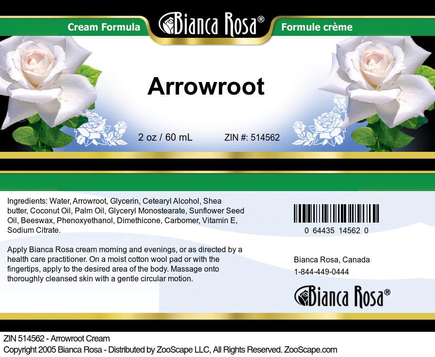 Arrowroot Cream