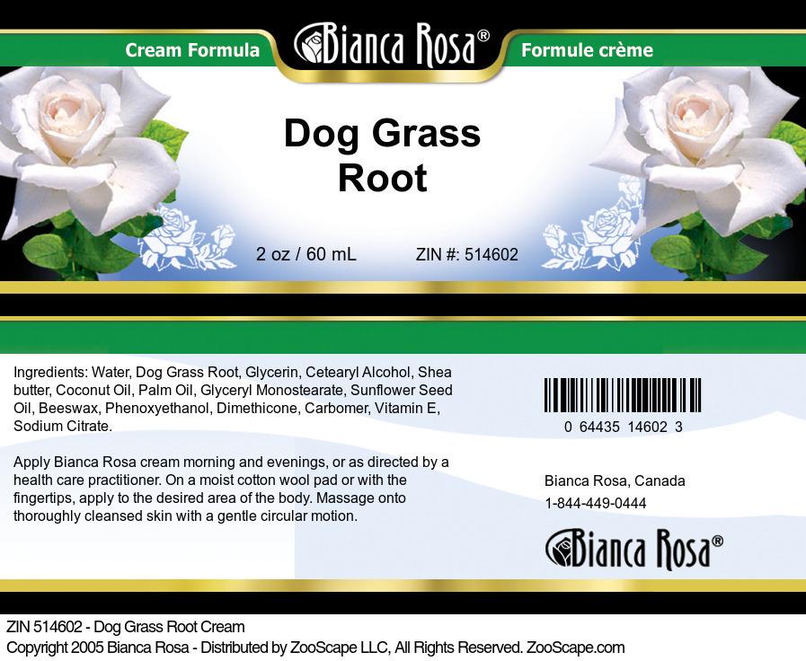 Dog Grass Root Cream