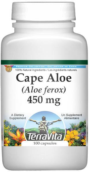 Cape Aloe (Aloe ferox) - 450 mg