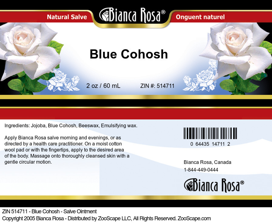 Blue Cohosh - Salve Ointment
