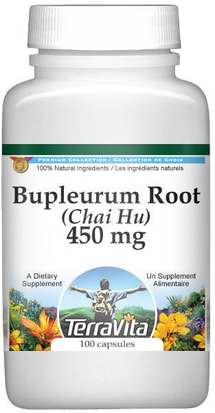 Bupleurum Root (Chai Hu) - 450 mg