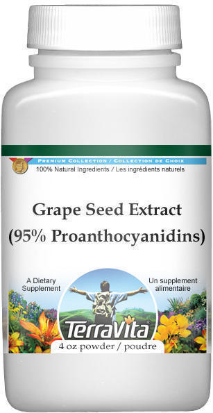 Grape Seed Extract (95% Proanthocyanidins) Powder