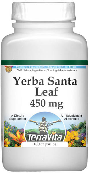 Yerba Santa Leaf - 450 mg