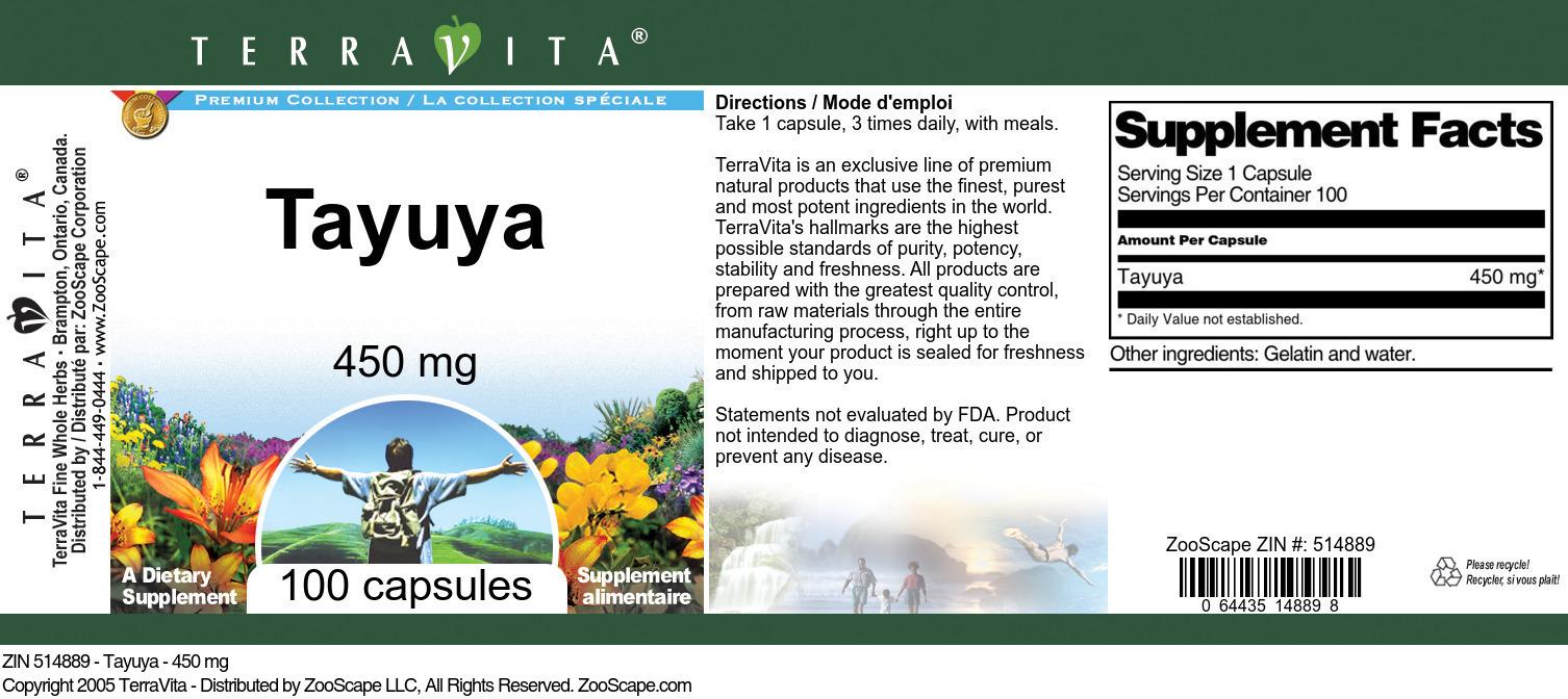 Tayuya - 450 mg