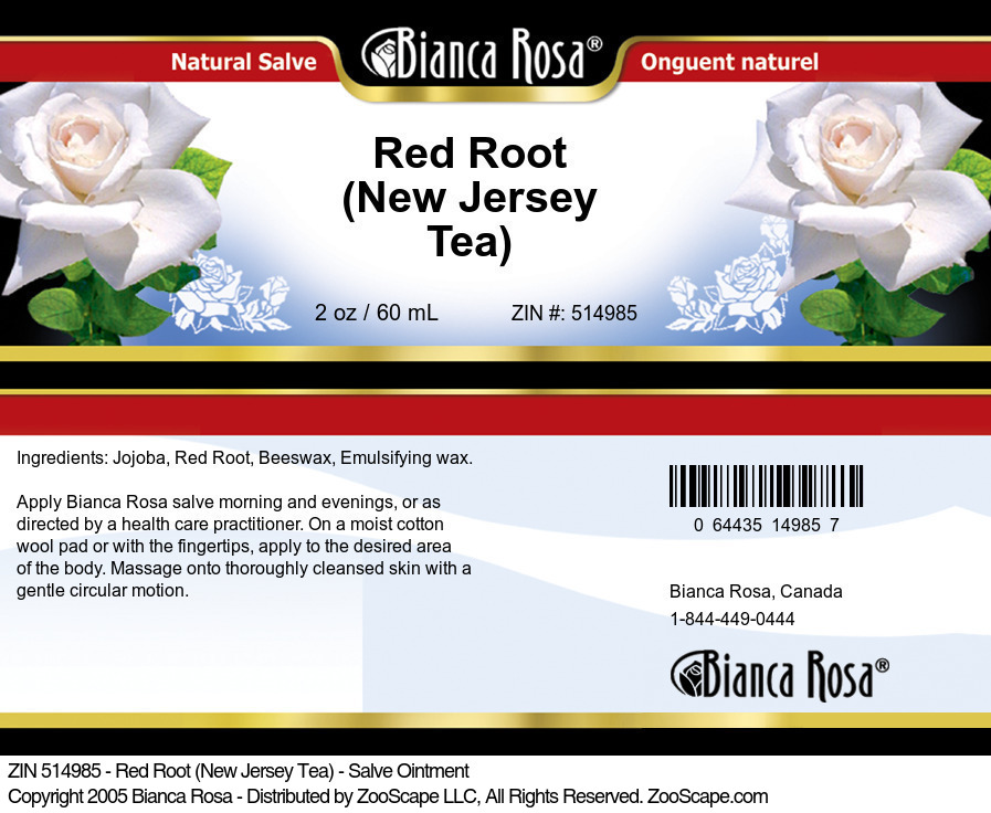 Red Root (New Jersey Tea) - Salve Ointment