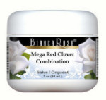 Mega Red Clover Combination - Red Clover, Dandelion, Burdock and More - Salve Ointment