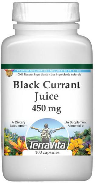 Black Currant Juice - 450 mg