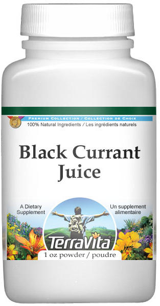 Black Currant Juice Powder