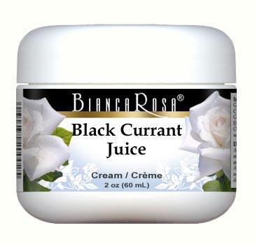 Black Currant Juice Cream