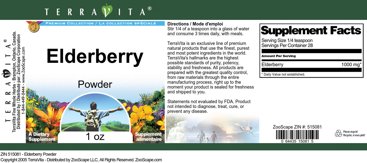 Elderberry Powder