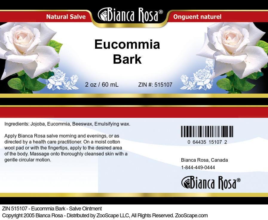 Eucommia Bark - Salve Ointment