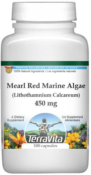 Mearl Red Marine Algae (Lithothamnium Calcareum) - 450 mg