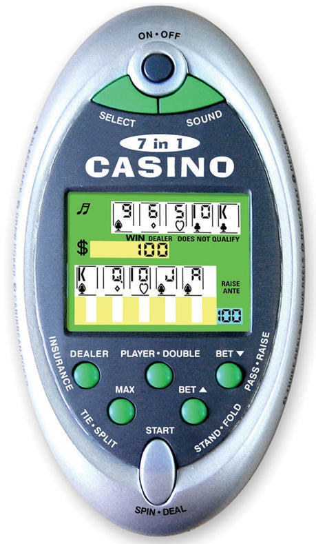 Probability of casino games