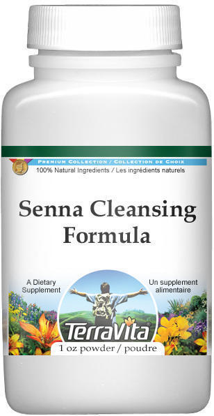 Senna Cleansing Formula - Senna, Fennel, Ginger and More - Powder