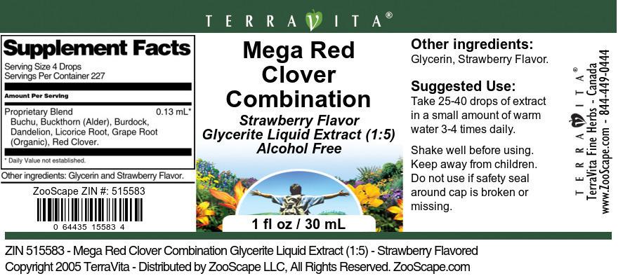 Mega Red Clover Combination