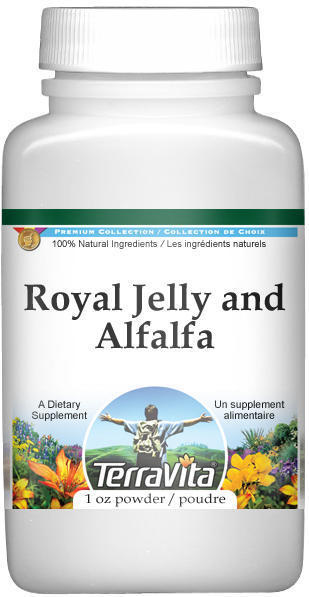 Royal Jelly and Alfalfa Combination Powder