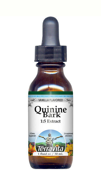 Quinine Bark (Red Cinchona) Glycerite Liquid Extract (1:5)