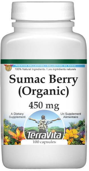 Sumac Berry (Organic) - 450 mg