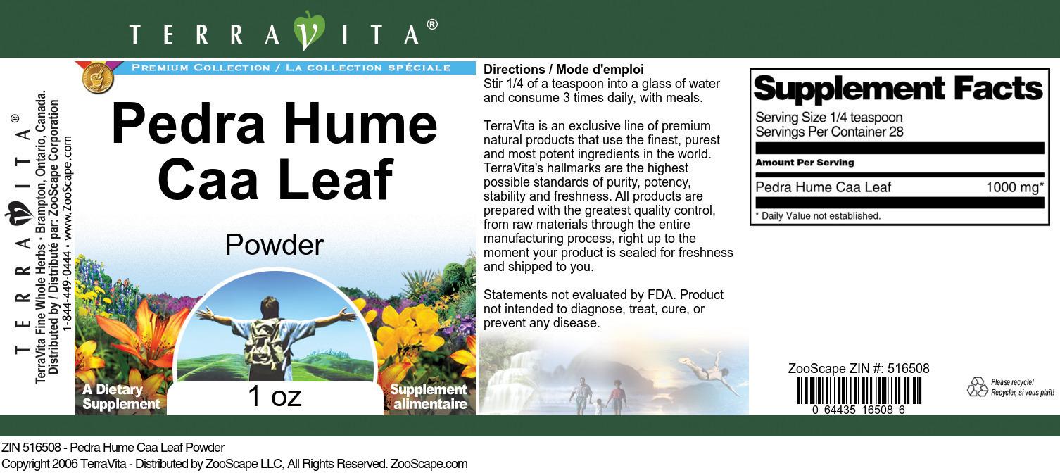 Pedra Hume Caa Leaf Powder