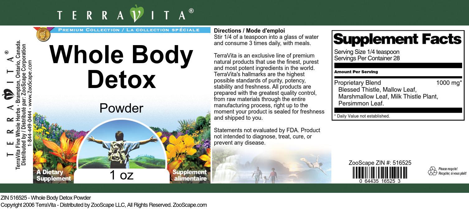 Whole Body Detox Powder